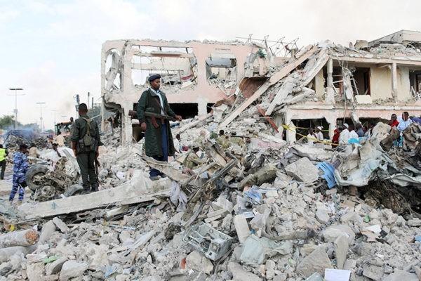 Число жертв в итоге взрыва встолице Сомали достигло 189
