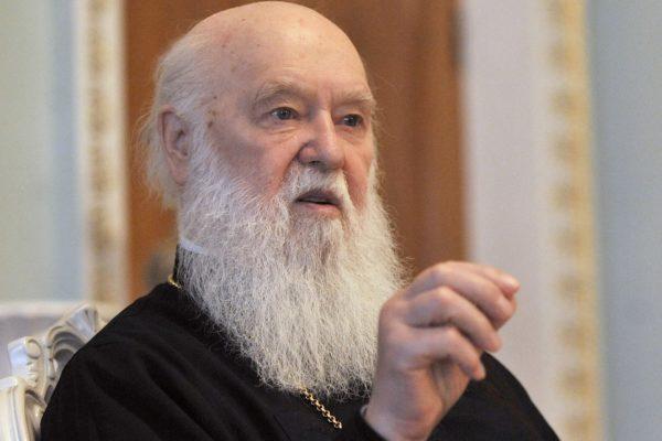 """Глава """"Киевского Патриархата"""" попросил прощения у Русской Церкви"""
