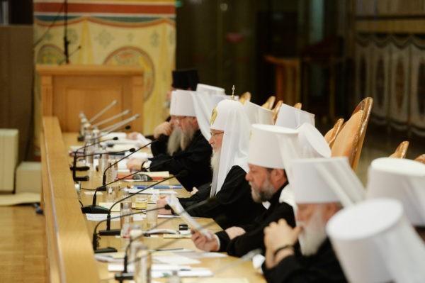 Первый день Архиерейского Собора – главное