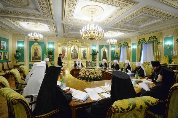 Журналы заседания Священного Синода от 28 ноября 2017 года