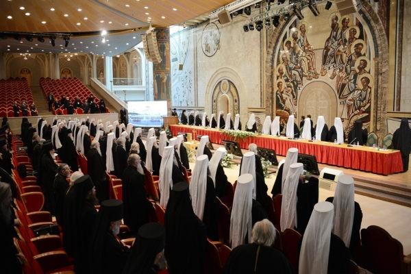 Завтра в Москве начнет работу Архиерейский Собор
