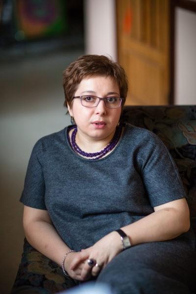 Нюты Федермессер. Фото Анны Даниловой