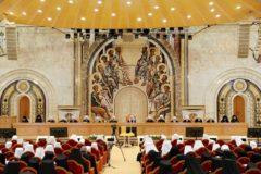 Патриарх Кирилл рассказал о взаимодействии власти и епархий в странах СНГ и Балтии