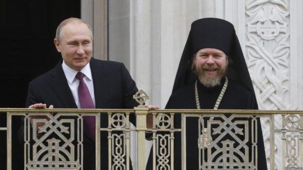 """Епископ Тихон (Шевкунов): """"Я лишь немного знаю Путина"""""""