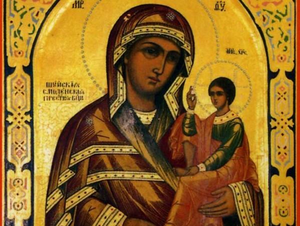 Церковь празднует память Шуйской-Смоленской иконы Божией Матери