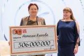 Выигравшая 506 млн пенсионерка отдаст часть суммы на благотворительность