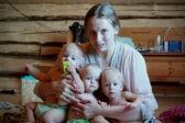 На острове с тройней – выжить по-русски