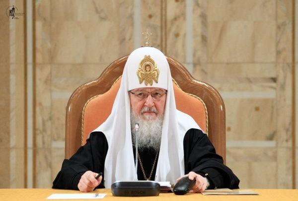 В Москве проходит заседание Священного Синода
