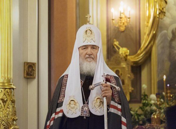 Патриарх Кирилл назвал пустословие самым распространенным грехом