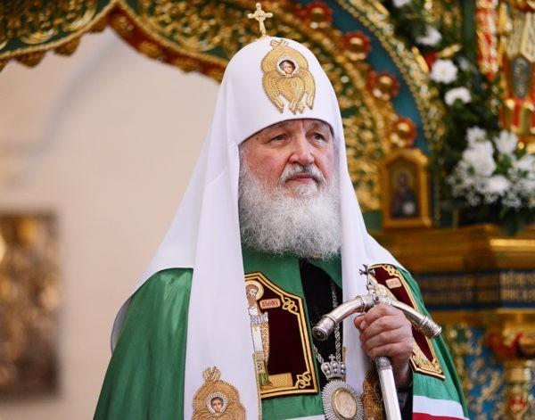 В День славянской письменности Патриарх Кирилл отмечает день своего тезоименитства