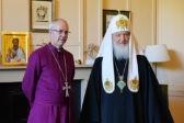Патриарх Кирилл и глава Англиканской церкви призвали помочь христианам на Ближнем Востоке