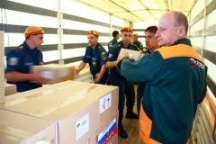 Россия отправила 300 тонн гумпомощи пострадавшим от урагана кубинцам