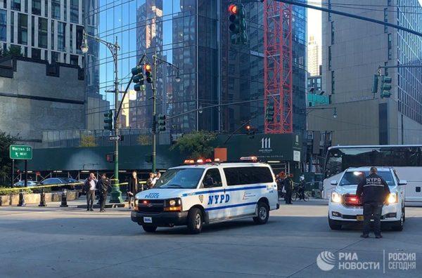 Теракт в Нью-Йорке: восемь человек погибли, более десяти ранены
