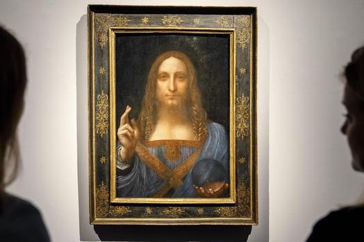 СМИ назвали проданную картину ДаВинчи «Спаситель мира» подделкой