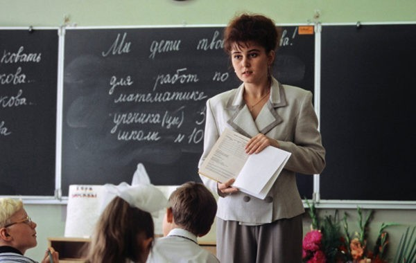 Ольга Васильева: Дефицит учителей в школах России составляет 1%