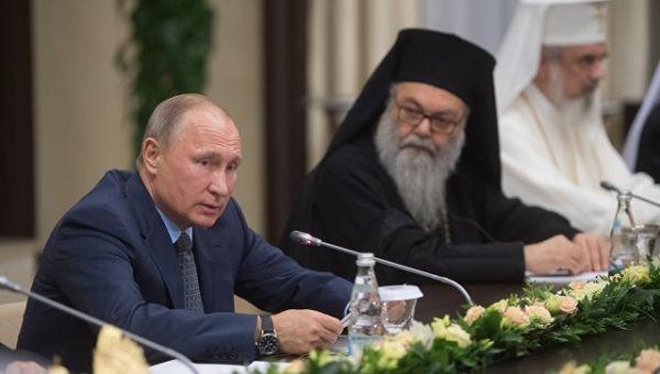 Путин: Российская Федерация несомненно поможет христианам ииудеям восстановить святыни вСирии