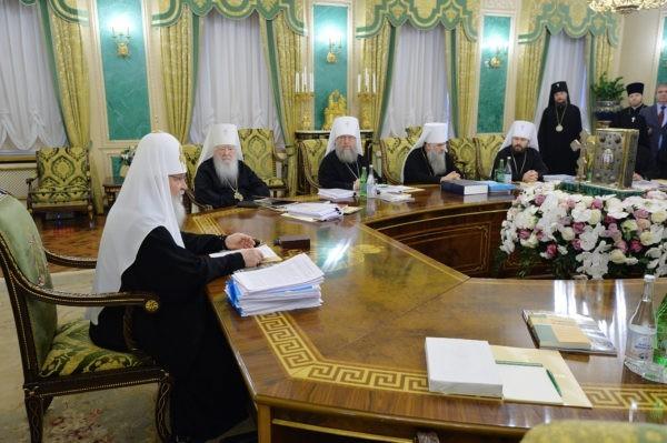 Журналы заседания Священного Синода от 28 декабря 2017 года