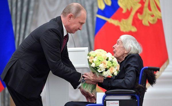 Правозащитница Людмила Алексеева попросила президента поддержать фонд Доктора Лизы