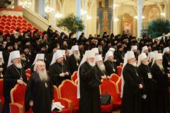 Архиерейский Собор подводит итоги своей работы