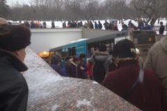 В Москве автобус въехал в подземный переход: погибли четыре человека