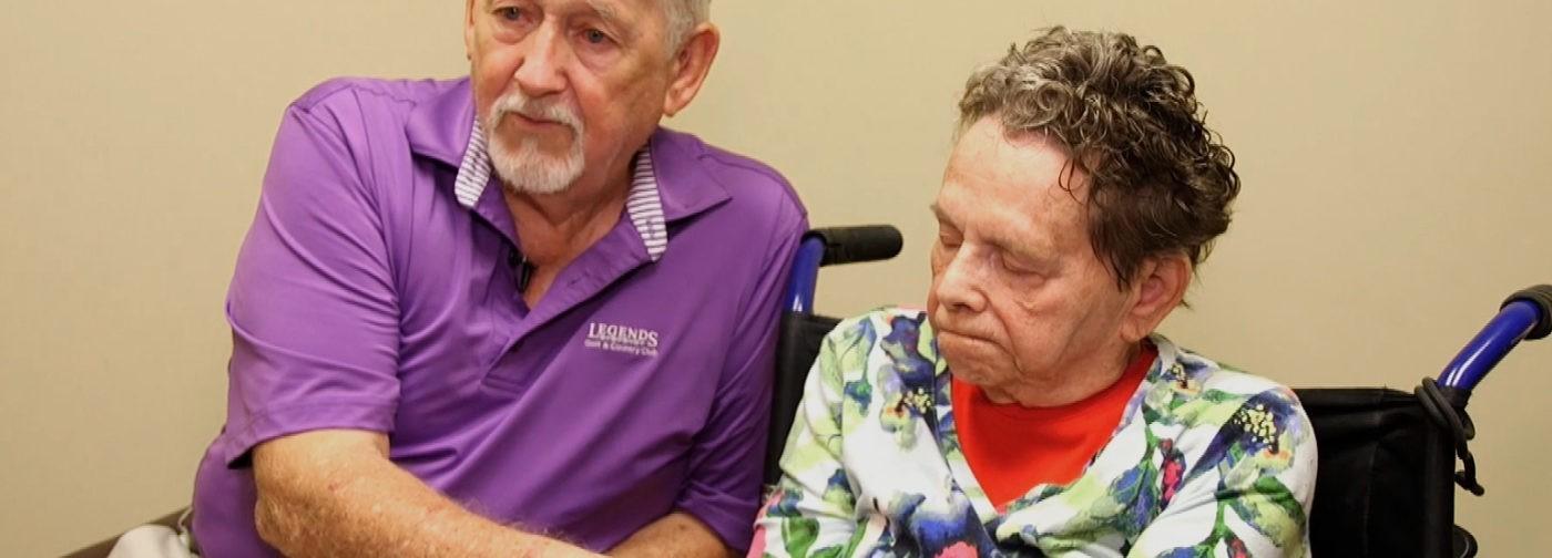 Болезнь Альцгеймера не смогла победить любовь супругов