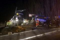 При столкновении поезда и школьного автобуса во Франции погибли четыре ребенка
