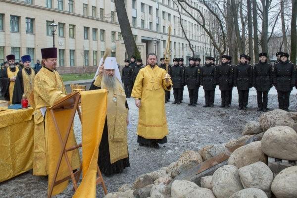 В Санкт-Петербурге заложили храм в честь святого Евгения Боткина