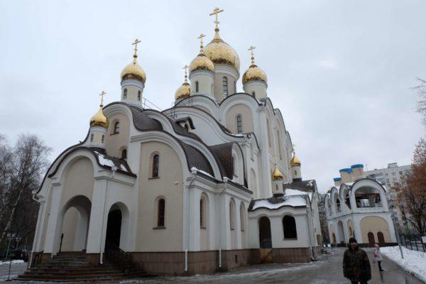 Храм Матроны Московской освятят в 2018 году
