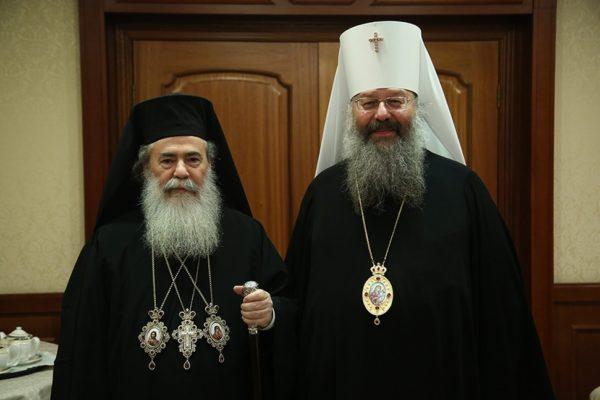 Патриарх Иерусалимский впервые посетил Екатеринбург