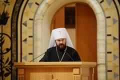 Митрополит Иларион: Диалог с представителями «Киевского Патриархата» начат по их инициативе