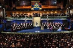 Лауреатов Нобелевской премии наградили в Стокгольме