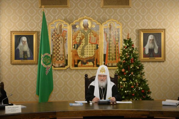 Патриарх Кирилл: Мы обязательно должны принять участие в выборах, с тем чтобы внести свой вклад в формирование будущего нашей страны