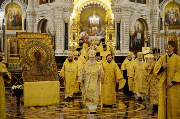 Патриарх Кирилл совершит литургию в день памяти Николая Чудотворца