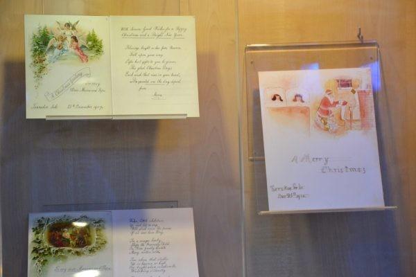 В монастыре на Ганиной яме открылась выставка о последнем Рождестве царской семьи