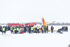 Три человека погибли при крушении самолета в Нарьян-Маре