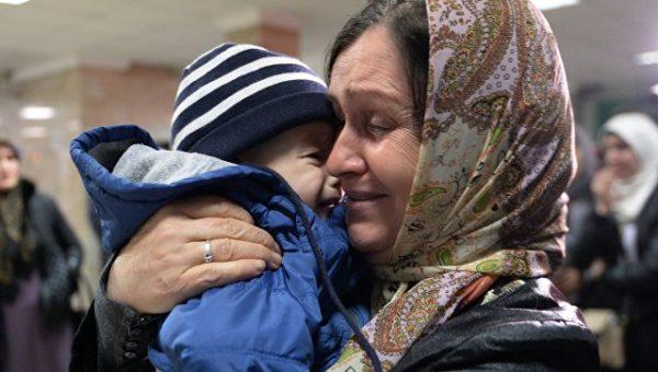 Из зоны боевых действий в Сирии и Ираке вывезены 80 российских детей