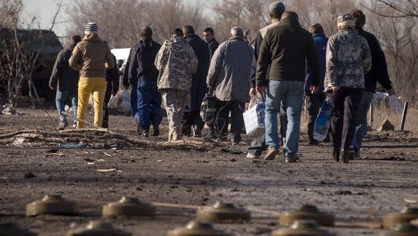 Церковь продолжает содействовать освобождению пленных в Донбассе