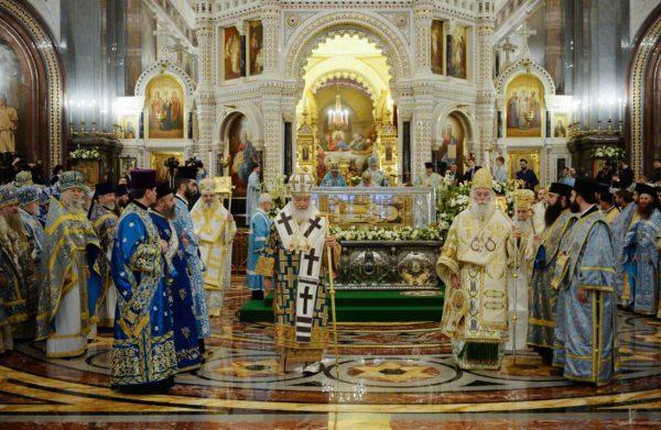 Русская Церковь торжественно отметила 100-летие восстановления Патриаршества