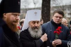 Киевский Митрополит почтил память ликвидаторов аварии на Чернобыльской АЭС