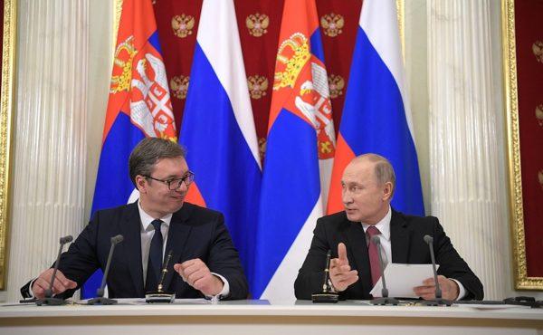 Владимир Путин получил приглашение на 800-летие автокефальности Сербской православной церкви