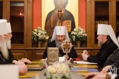Журналы заседания Священного Синода Украинской Православной Церкви от 21 декабря 2017 года