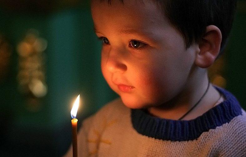 Мама, я хочу, чтобы Христос остался у нас — я буду с Ним играть