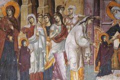 Церковь отмечает Введение во храм Пресвятой Богородицы