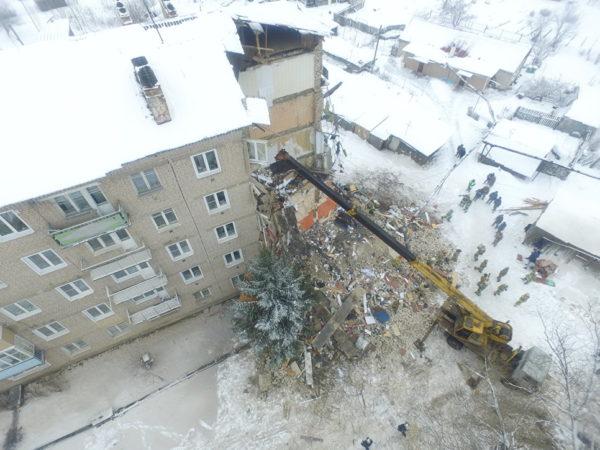 Гражданин Юрьевца, спасший жильцов обрушившегося дома, получил награду