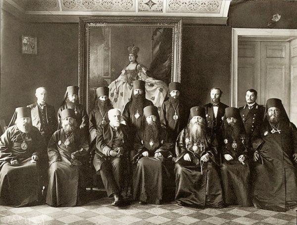 1917 год: Проблема священства и царства