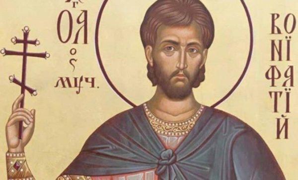 Церковь чтит память святого мученика Вонифатия