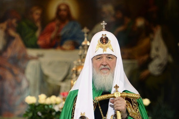 Медведев встретил Рождество в монастыре Христа Спасителя в российской столице