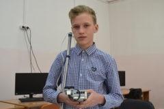 Как красноярский школьник придумал электронную трость-поводырь