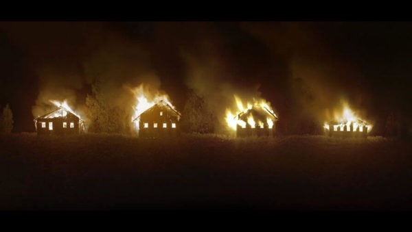Полиция проверяет причастность фотографа-акциониста к поджогу заброшенной вологодской  деревни