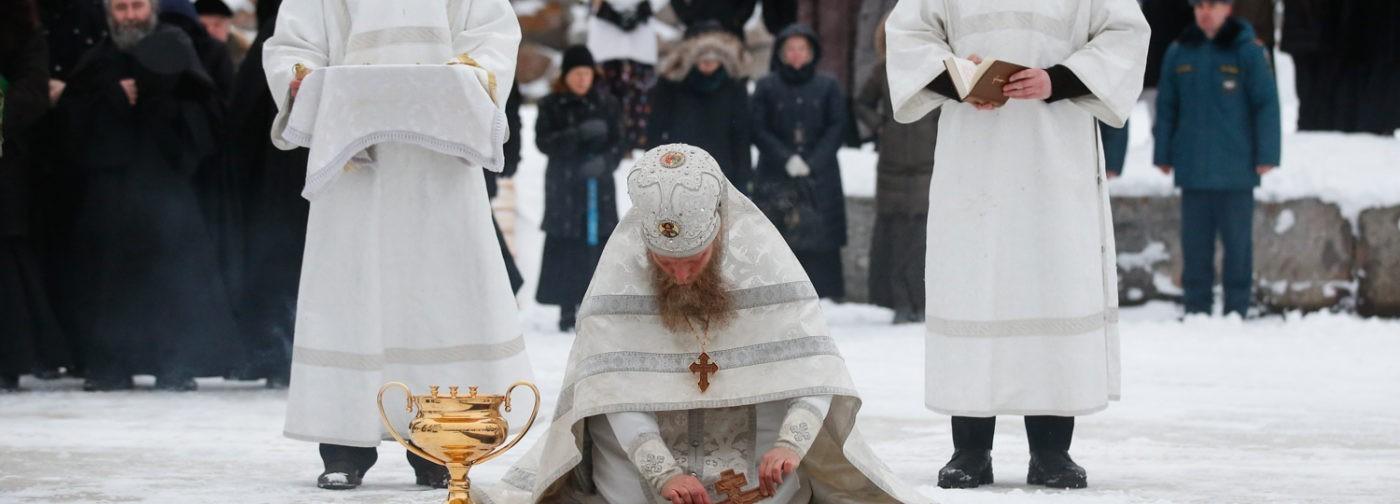 Крещенский сочельник на Соловках (ФОТО)